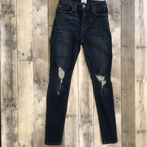 Hudson Blair high waisted super skinny jean